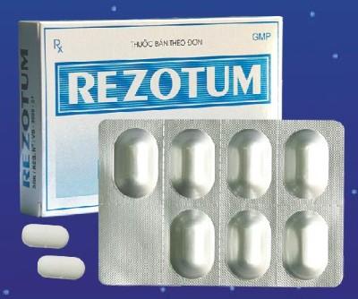 Bao bì thuốc Rezotum