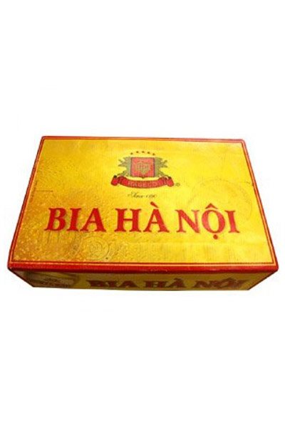 Thùng bia Hà Nội