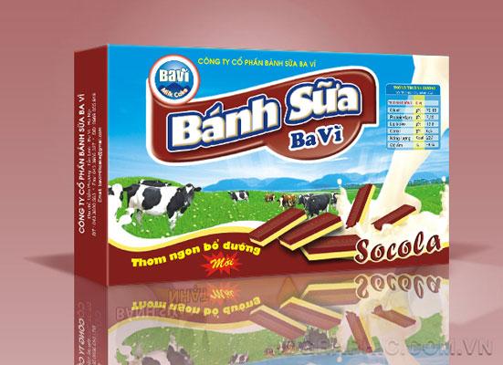 Bao bì sữa Ba Vì