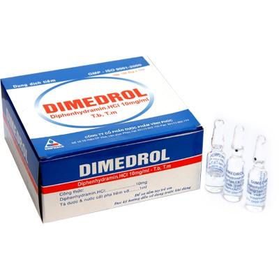 Bao bì thuốc Dimedrol