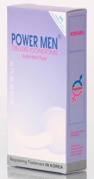 Bao bì bao cao su Powermen
